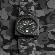 Bell & Ross and BAPE's Universe Meet