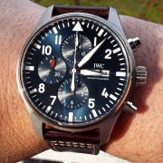My new IWC Le Petit Prince Chrono Ref. IW377714