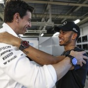 IWC Congratulates Lewis Hamilton on his F1 Championship Victory