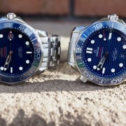 Omega blue ceramic SMP Divers – new and outgoing