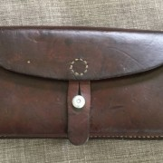 """A custom made Swiss Ammo Strap from a """"military Swiss cartouchieres"""""""