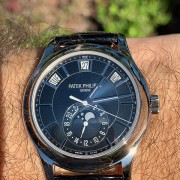 Unboxing: An end of the year new arrival – Patek Philippe Annual Calendar 5205G-013