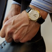 Handling my business wearing a Vacheron Constantin Chronometre Royal 6107