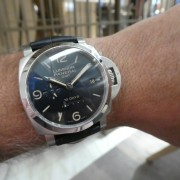 Panerai Luminor 1950 10 Days GMT PAM986 at Miami Art Basel last week (Part 1)