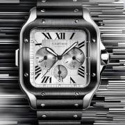 SIHH 2019: Cartier Santos Chronograph