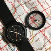 Recently, I found a very unusual IWC Porsche Design Compass Ref. 3510