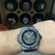 King Power All Black UNICO – Hublot's legendary after sales service is back