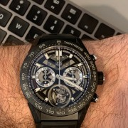 Back to TAG Heuer after a long hiatus – TAG Heuer Tourbillon Automatic Chronograph