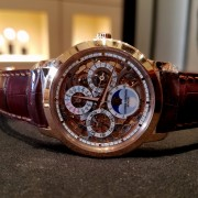 Seen at the Madison Avenue Boutique – Vacheron Constantin Traditionnelle Perpetual Calendar Skeleton 43172/000R-9241