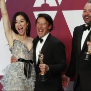 Jimmy Chin, Oscar winning NatGeo Photographer & Director wears Panerai at the Oscars
