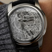 Introducing the Romain Gauthier Prestige HMS Stainless Steel with Meteorite dial