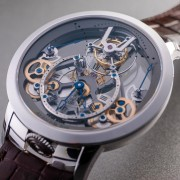 Baselworld 2019: Arnold & Son Time Pyramid Tourbillon