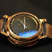 Are expensive watches ever worn? Yes, look at this Patek Philippe Sky Moon Tourbillon 5002 strap