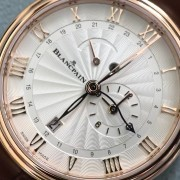 A photo session with the Blancpain Villeret GMT Reveil