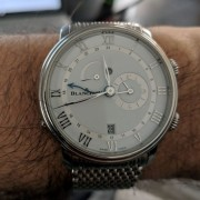 Long time lurker, first time poster here – recently picked up a Blancpain Villeret Reveil GMT in steel