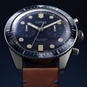 Introducing the Oris for Bucherer Blue Edition Divers 65 Chronograph