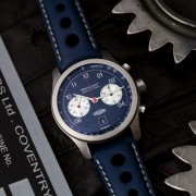 Bremont D-type chronograph partnership with Jaguar Classic (LE of 300)