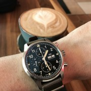 Impressed by the new IWC Pilot's Chronograph Spitfire IW387901