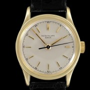 A vintage Patek Philippe Ref 2555 – a sweep seconds waterproof Calatrava