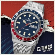 Q Timex Reissue – recreates its original quartz diver from the 1970s