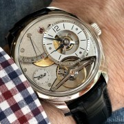 Polarizing. Different. Thrilled with it – Greubel Forsey Balancier Contemporain