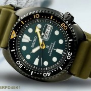 Green is the new black with the Seiko Prospex ref. SPB105