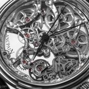 A true piece of horological art: the Blancpain Villeret Squelete 8 Jours
