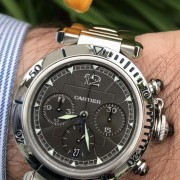 Today's watch is my Cartier Pasha 950 Chronograph