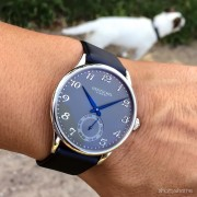 A first look at a new Hentschel timepiece prototype