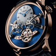 Introducing the MB&F Legacy Machine 2 Red Gold Blue