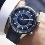 Introducing the Jaeger-LeCoultre Polaris Date Blue