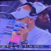 Watch spotting NFL edition: Chicago Bears head coach Matt Nagy's Tudor Heritage Chrono Blue