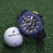 Introducing the Hublot Big Bang UNICO Golf Blue Carbon
