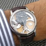 Romain Gauthier – A wonderful afternoon meeting with this master watchmaker