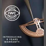 IWC extends its Warranty to 8 Years
