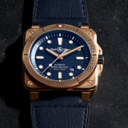 Introducing the Bell & Ross BR03-92 Diver Bronze Navy Blue