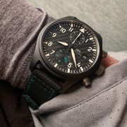 IWC Mercedes Petronas AMG in black ceramic & carbon dial coming soon
