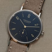 Introducing the NOMOS Tangente Midnight Blue