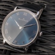 First photos of the new BLANCPAIN Villeret Ultraplate platinum