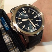 My new IWC Aquatimer Jacques Cousteau Edition