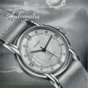 Weekend Mystery Watch: here's a watch ad from the 1940s with some info removed – can you guess?