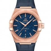 Introducing the Omega Constellation Master Chronometer 39 in Sedna Gold & Silk Dial