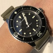 Hands-on with the Blancpain Fifty Fathoms Nageurs de combat, ref. 5015E-1130-B52A