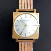 Inherited a vintage 18K Girard-Perregaux ref. 8900 produced in 1960s