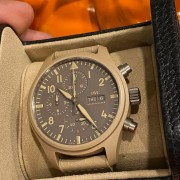 Two new IWC Pilot's Watch arrivals – some Top Gun Mojave and Top Gun Bronze