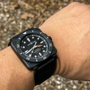 Hands-on with the Bell & Ross BR03-92 Diver Black Matte