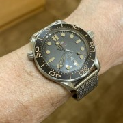 Some live shots of the Omega Seamaster Diver 300M 007 James Bond Edition