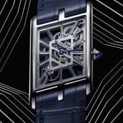 W&W 2020: Cartier Tank Asymétrique Skeleton