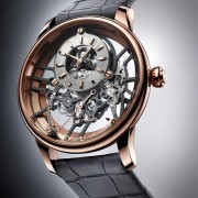 Introducing the Jaquet Droz Grande Seconde Skelet-One Red Gold
