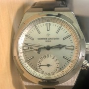 New Vacheron Constantin Overseas Dual Time – love the silver dial